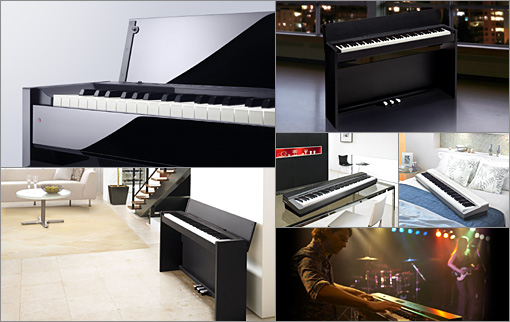 pianos digitais casio design